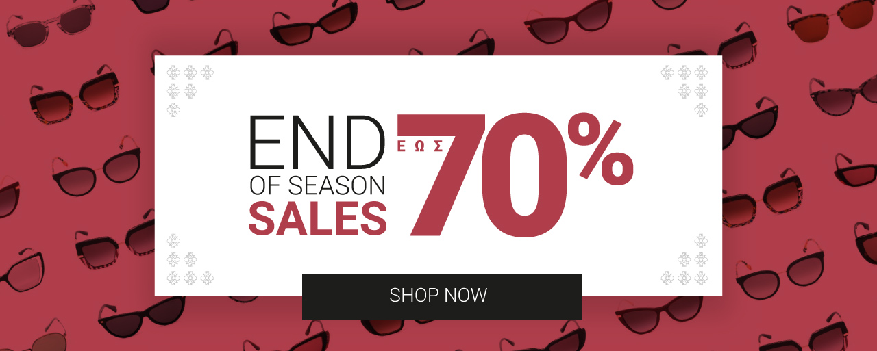 End Of Season Sales up to 70%