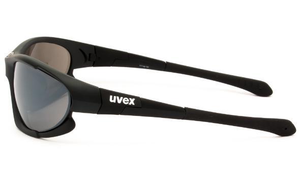 ΓΥΑΛΙΑ ΗΛΙΟΥ UVEX 100 BLACK MAT .