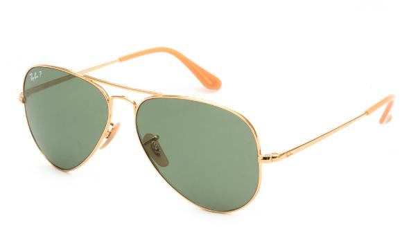 ΓΥΑΛΙΑ ΗΛΙΟΥ RAY BAN  AVIATOR METAL II 3689 9064O9 5814