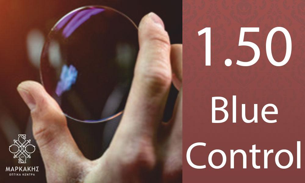 ΚΡΥΣΤΑΛΛΑ CUSTOM LENSES 1,50 BLUE CONTROL