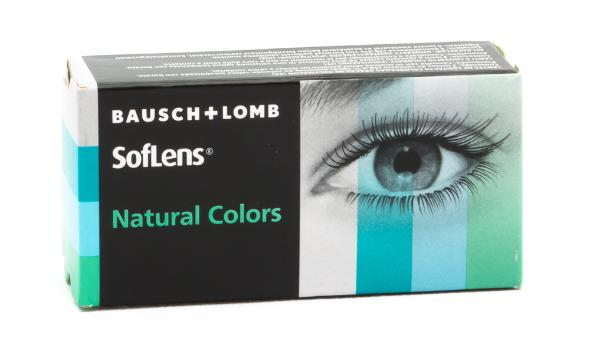 ΦΑΚΟΙ ΕΠΑΦΗΣ BAUSCH & LOMB SOFLENS NATURAL COLORS 2 τμχ