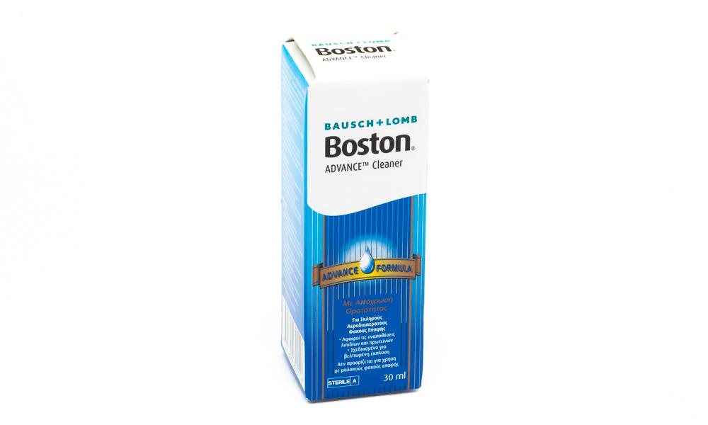 BAUSCH & LOMB ΥΓΡΟ ΦΑΚΩΝ BAUSCH & LOMB BOSTON CLEANER 30ml B...