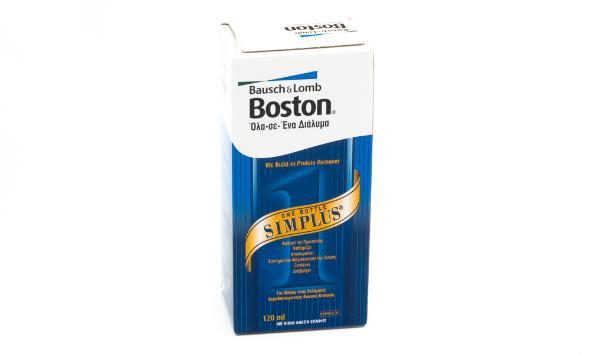 ΥΓΡΟ ΦΑΚΩΝ BAUSCH & LOMB BOSTON SIMPLUS 120 ml  120 ml